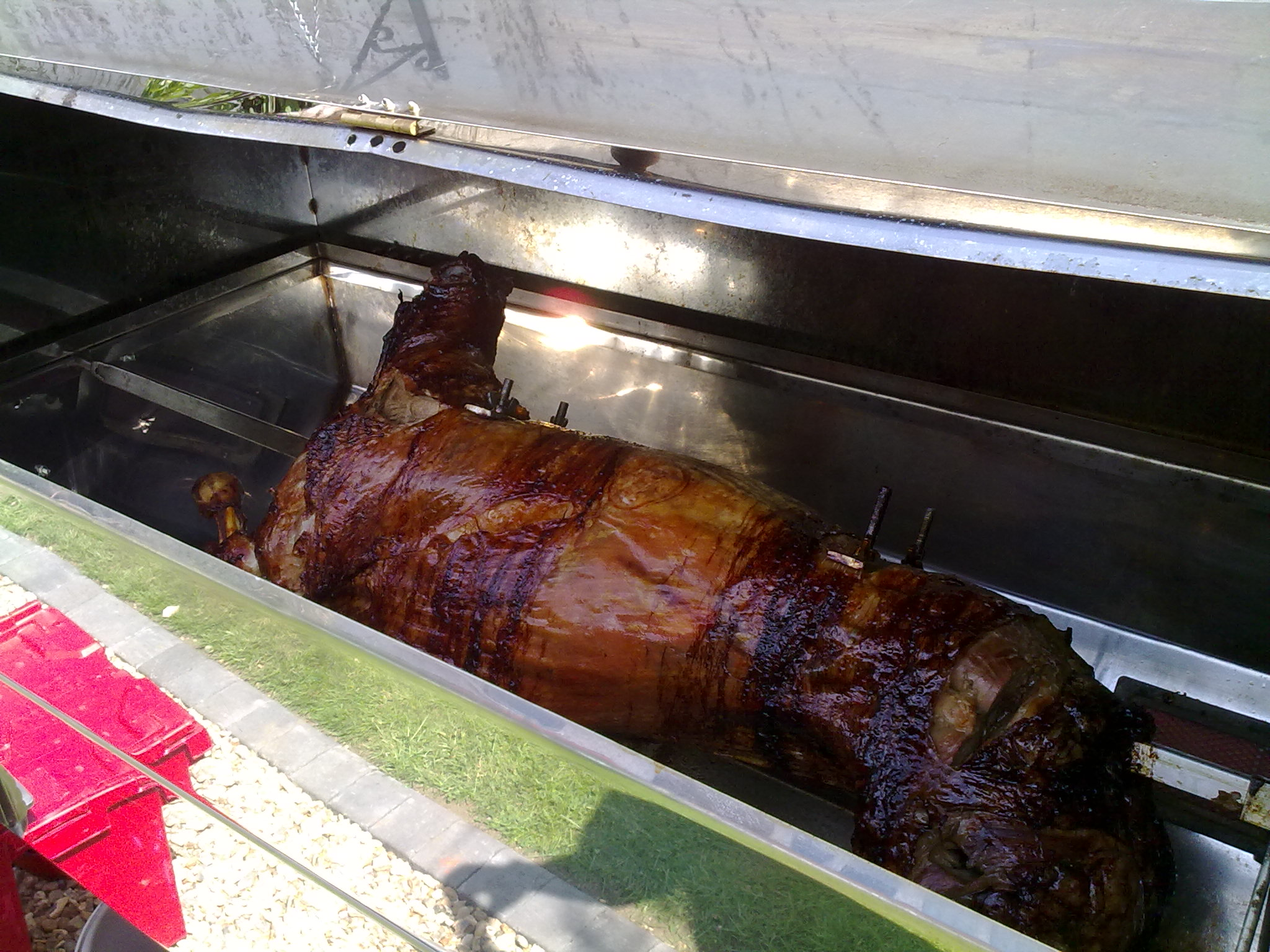 hog roast in kent for the vowels