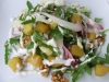 Hog Roast Spit Roast Pear Chicory Salad