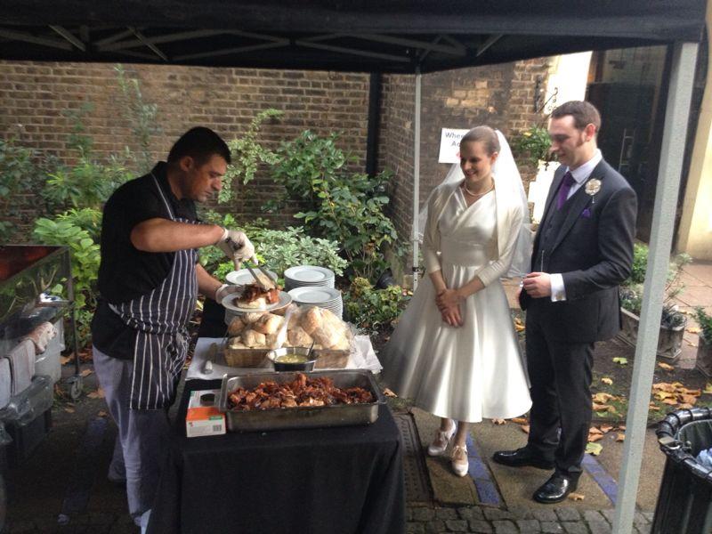 Roast Wedding Pictures