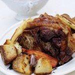 Jamie Oliver's pork belly
